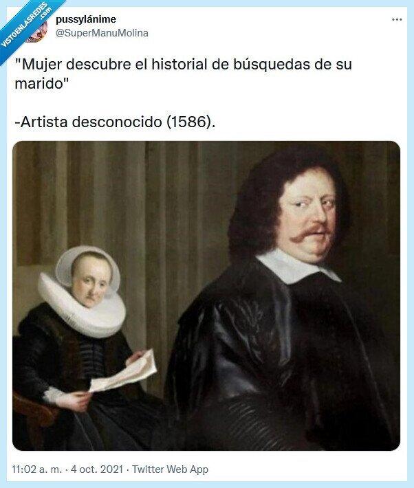 búsqueda,historial,marido,mujer