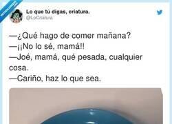 Enlace a Las vaciladas de esta madre a su hija cuando le pide comida, por @LoCriatura