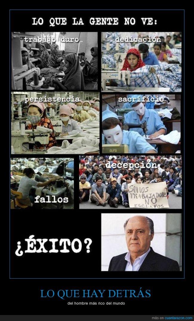 Amancio Ortega,explotación,forbes,millonario,rico,zara