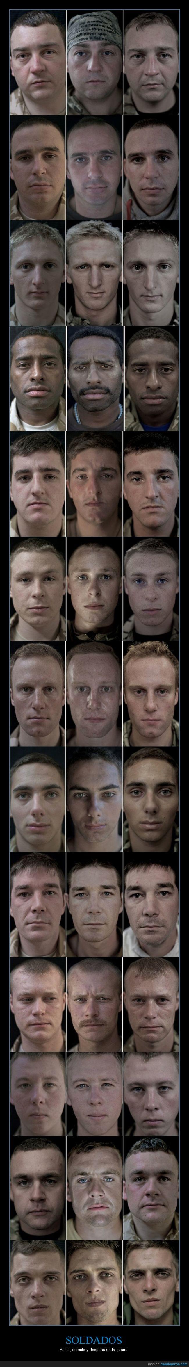 antes,despues,durante,fotografía,guerra,lalage snow,soldado