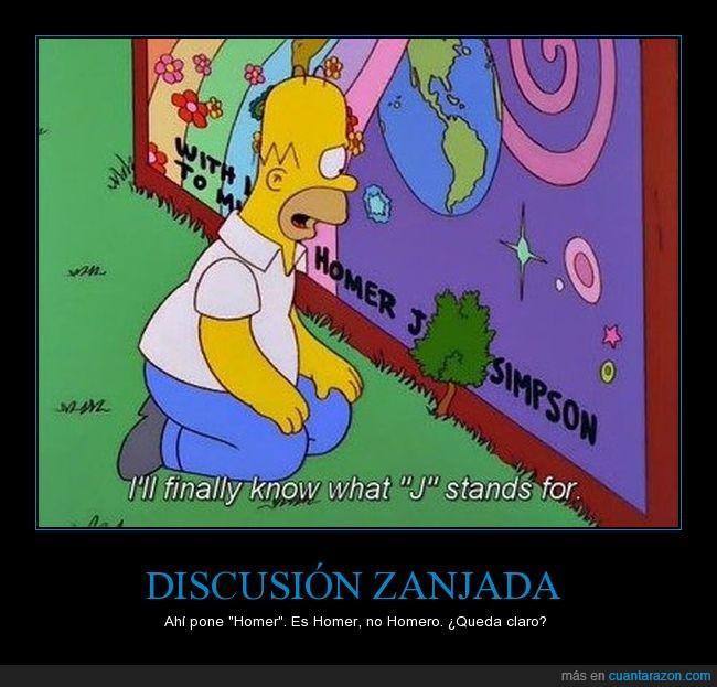 Es Homer,Homer,Los Simpson,No es Homero,No tiene O final,Simpson,The simpsons