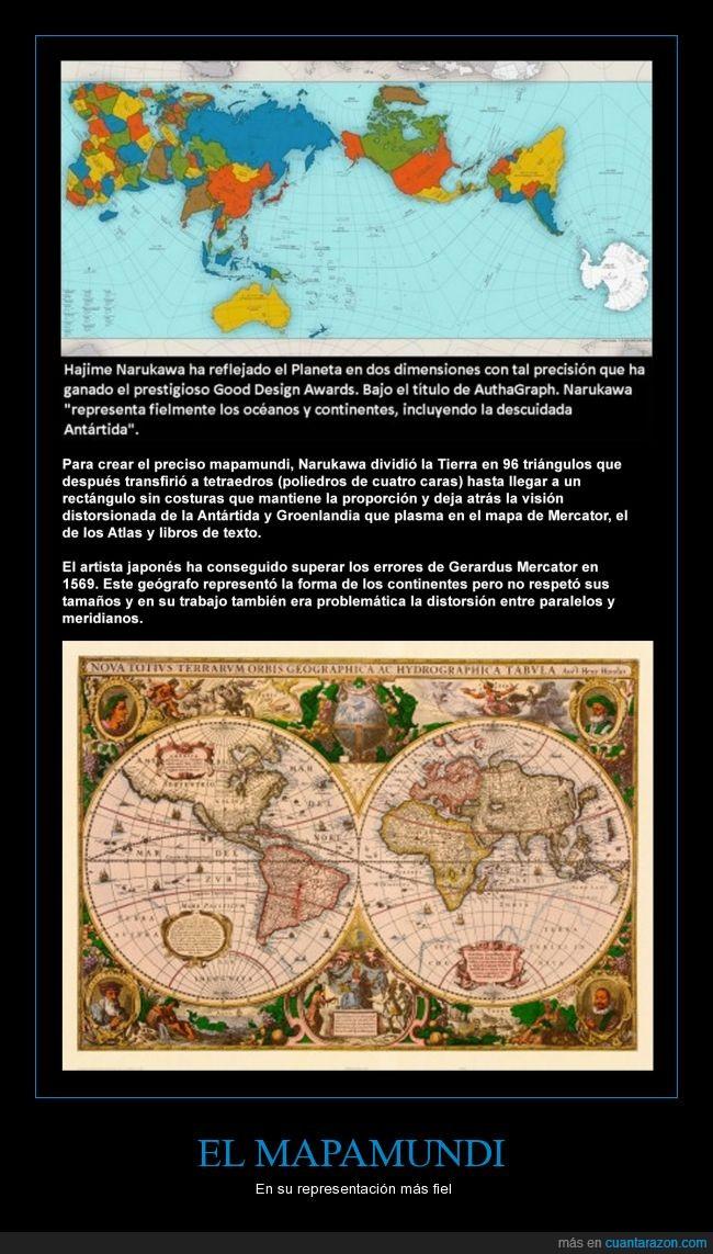 mapamundi,Narukawa,planeta,representación,tierra