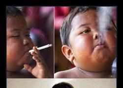 Enlace a ¿Recuerdas al niño que fumaba 40 cigarrillos al día? Así es hoy con 10 años
