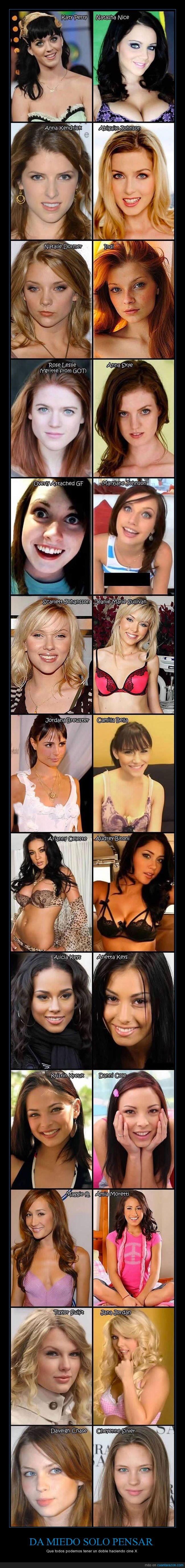 actrices,cine x,dobles,películas,x