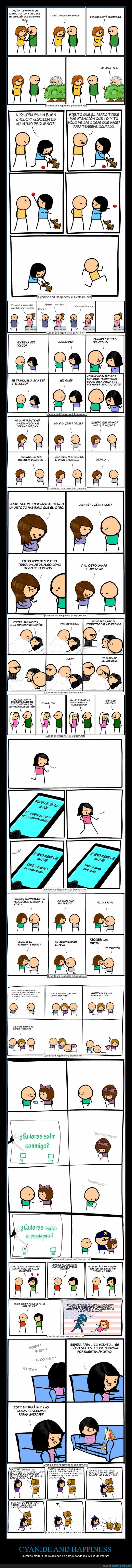 amor,cyanide and happiness,relaciones