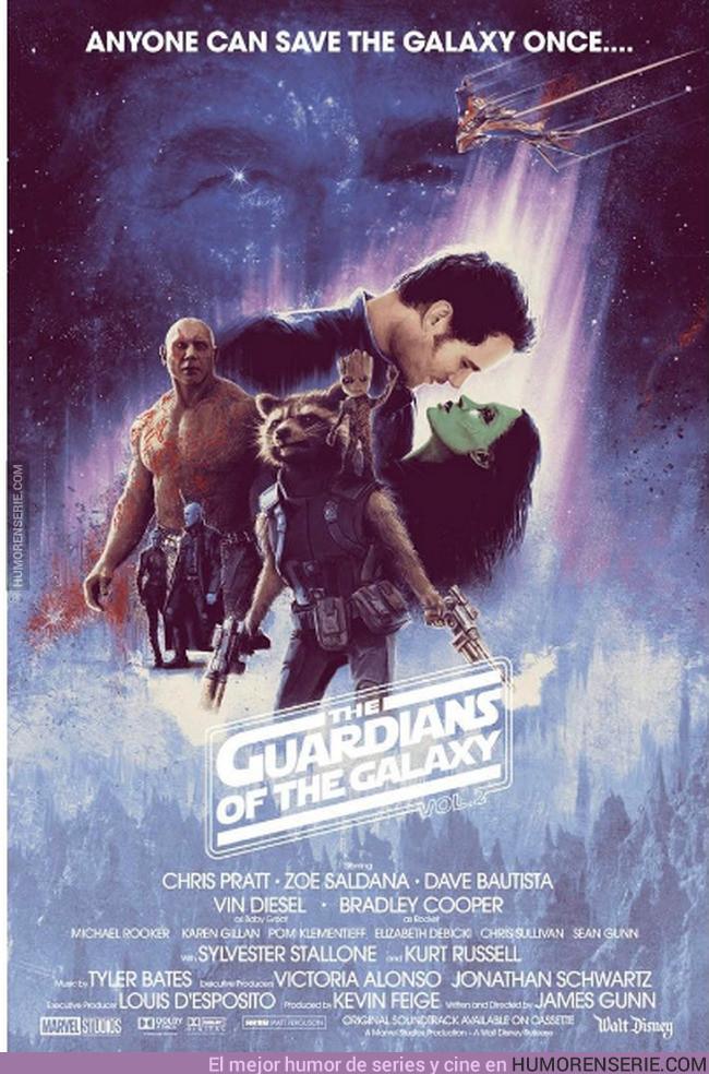 13559 - Guardianes de la Galaxia versión Star Wars