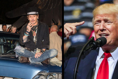 15268 - Johnny Depp la lía con una frase desafortunada sobre Donald Trump