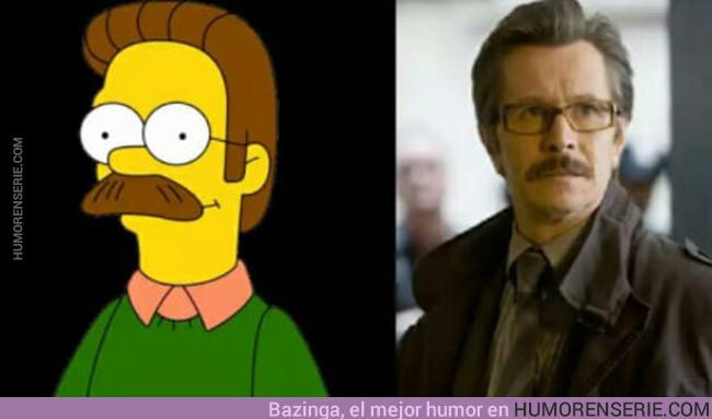 15669 - Ned Flanders estuvo increíble en El Caballero Oscuro