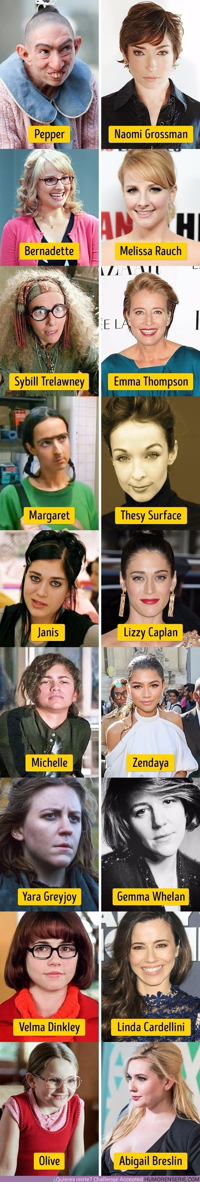 16559 - Estas 9 actrices se hicieron famosas por su papel como patito feo