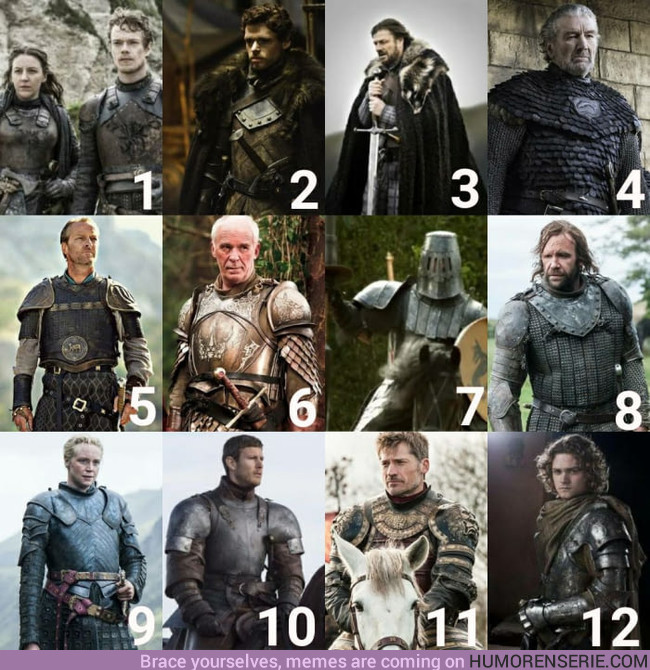 16659 - ¿Cuál de ellos crees que tiene la mejor armadura?